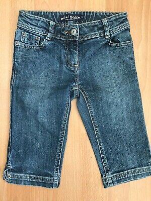 Mini Boden Ragazze Tagliato Corto Denim Jeans Pantaloncini @ Taglia 7 Anni-mostra Il Titolo Originale