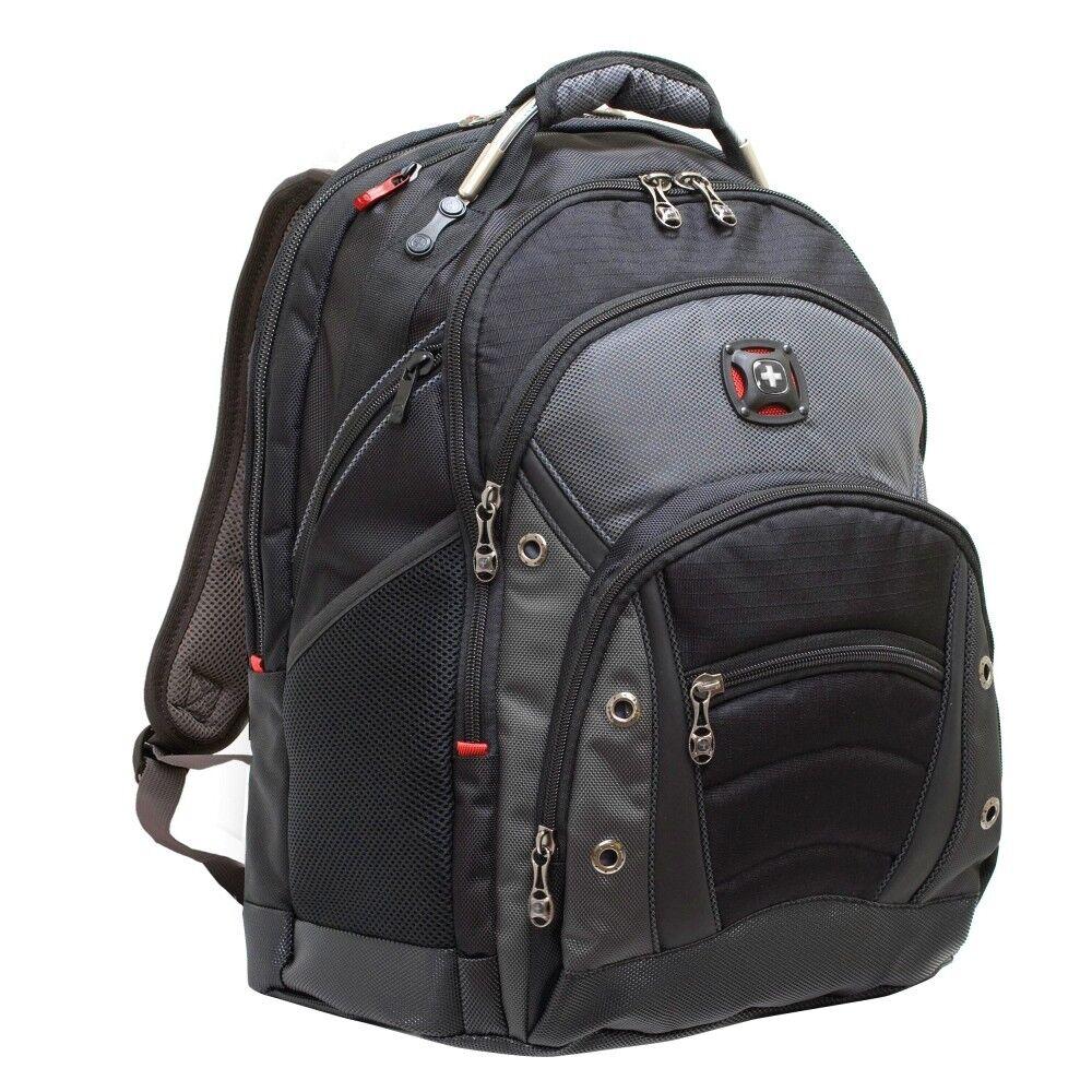 Hilfreich Zwei Mademoiselle.m Rucksack Rucksack Laptoptasche Tasche Canvas Graph Grau Koffer, Taschen & Accessoires
