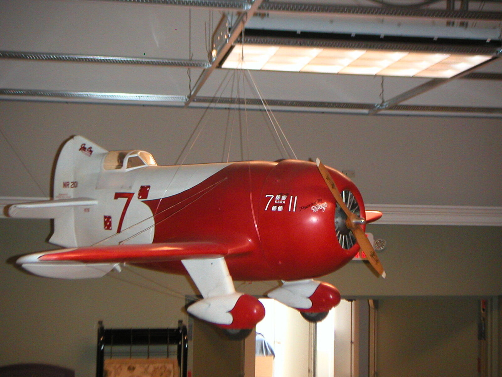 1931 GEE BEE SUPER SPORTSTER 82  GIANT SCALE AIRPLANE AVIATION