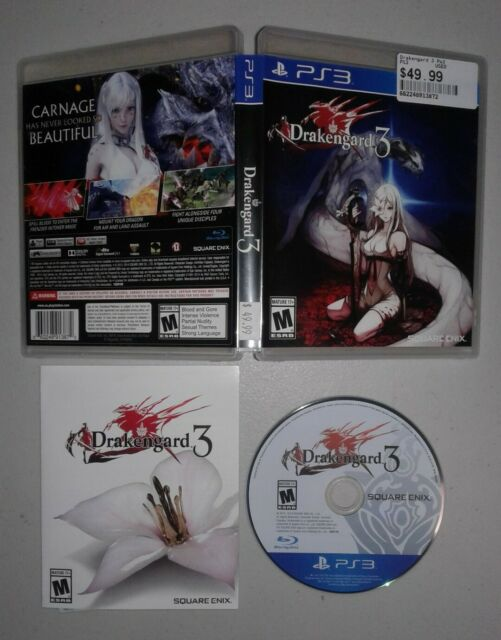 Drakengard 3 (PlayStaition 3) Complete with Manual FAST FREE SHIPPING!!!