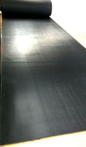 "Rubber Sheet 1//8/"" Thk x 12/"" x 12/"" Sq /'V/' Rib Corrugated x Peel-Back Adhesive"