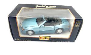 Maisto-SPECIAL-EDITION-1-24-SCALA-DIECAST-1989-Mercedes-Benz-500SL-31901