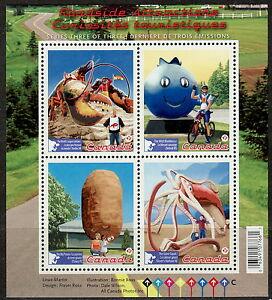 Canada-2484-Roadside-Attractions-Souvenir-Sheet-MNH