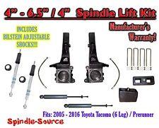 "2005 - 2016 Toyota Tacoma Prerunner 6.5"" / 4"" LIFT Kit, Bilstein 5100 Shocks, rs"