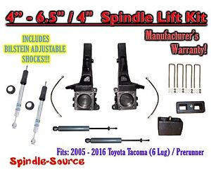 2005 2016 toyota tacoma prerunner 6 5 4 lift kit. Black Bedroom Furniture Sets. Home Design Ideas