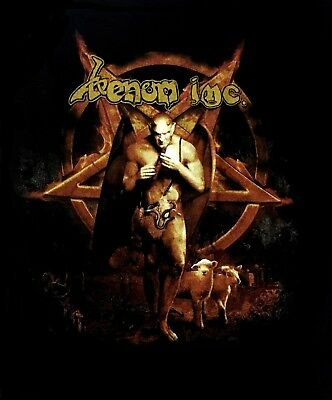 VENOM INC cd cvr Avé AVE / I KNEEL TO NO GOD Official SHIRT LRG New pentagram