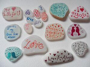 Romantic-keepsakes-Personalised-messages-on-Sea-glass-pottery-amp-pebbles