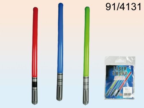 3 couleurs assorties disponibles-Christmas Star Wars 1 x gonflable sabre laser