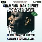 Blues from the Gutter/Natural and Soulful Blues by Champion Jack Dupree (CD, Jul-2010, Avid Records)