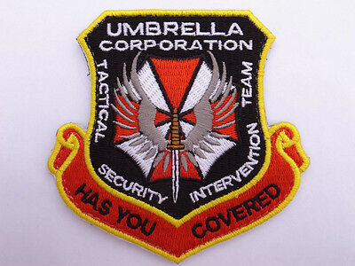 Resident Evil : RE Umbrella Co. Tactical Security Intervention Team Velcro Patch