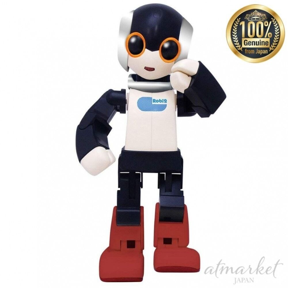 NEW Biped walking Robbi 2 Height approx 17 cm Toy Electric robot From JAPAN