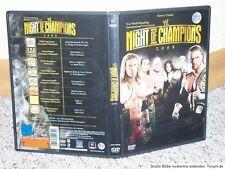 Wrestling DVD WWE Night of Champions 2008 WWF WCW ECW TNA NWO NWA AWA GWF GFW