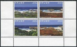 Stamps Aruba 2015 Strände Landschaften Küste Stranden Coast 897-900 Postfrisch Mnh Europe