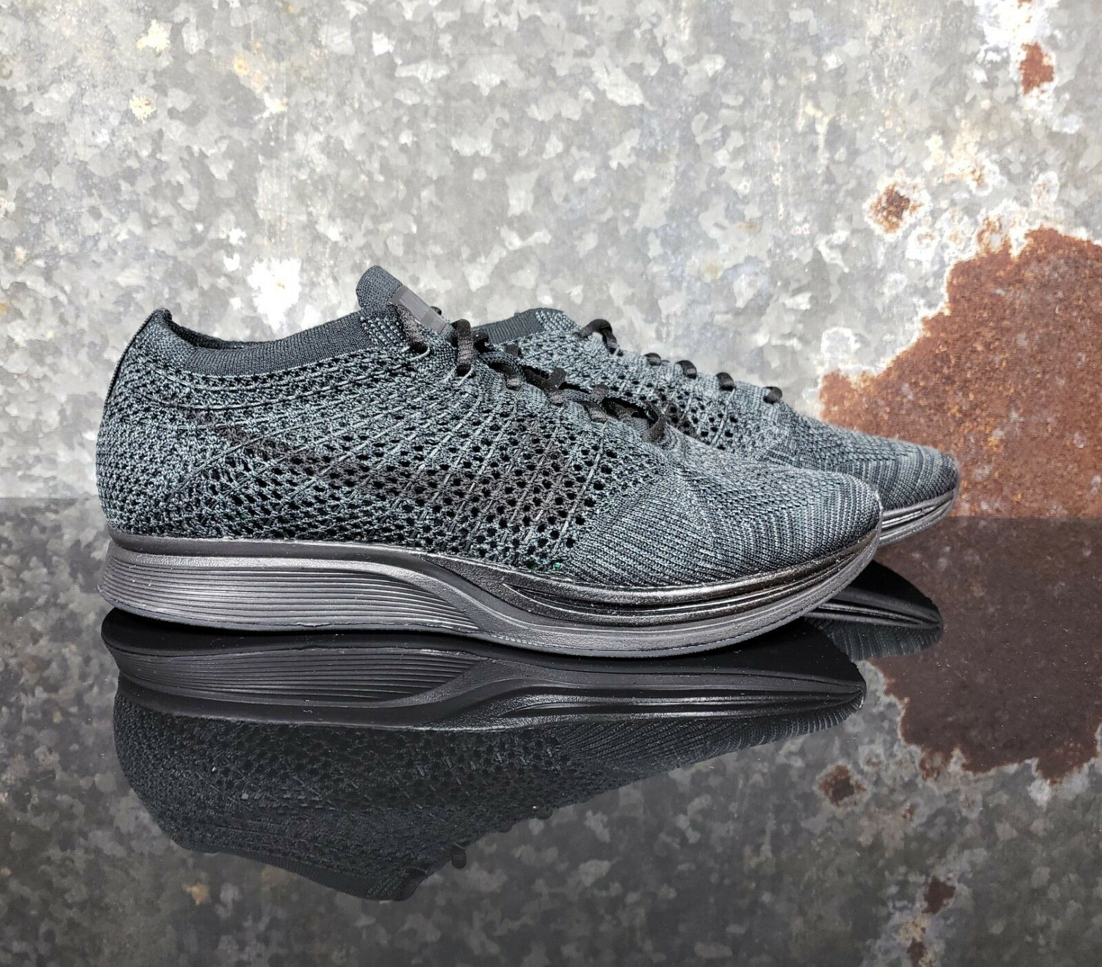 Nuove nike scarpe flyknit racer triple nero antracite scarpe nike scarpe scarpe 31b92c