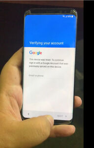 Details about Google account FRP (bypass) removal for Samsung galaxy S8 and  S8 Plus