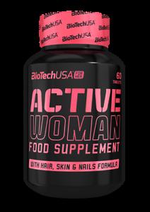 Biotech-USA-aktive-Frauen-60-Armel-Multi-Mineralien-amp-Vitamine-fuer-Frau-Nagel-amp-Haut