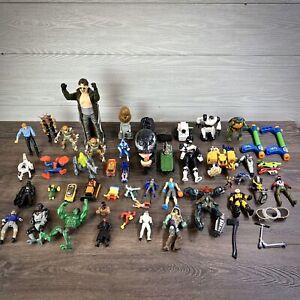 Huge-Vintage-90s-Action-Figure-Lot-TMNT-Marvel-More