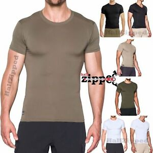 6208fd37341d Image is loading Under-Armour-TACTICAL-COMPRESSION-T-SHIRT-HeatGear-Crew-