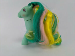 Braided Beauty - Brush 'n Grow Ponies Year 6 - G1 1985 Vintage My Little Pony