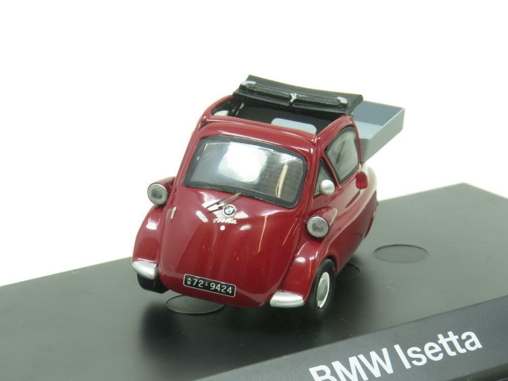 Schuco Druckguss 80429423106 BMW Isetta Rot 1 43 Maßstab Verpackt