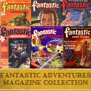 Fantastic-Adventures-SF-129-Science-Fiction-Pulp-Magazines-Collection-Data-DVD