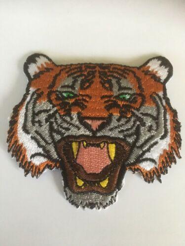 "Iron-on Patch ""Tiger"" Punk Goth Biker Freespirit"
