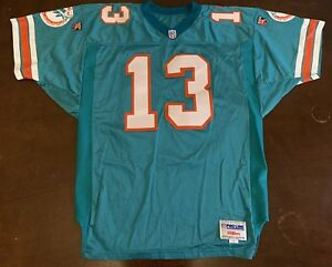 Details about Vintage NFL Wilson Pro Line Miami Dolphins Dan Marino Football Jersey