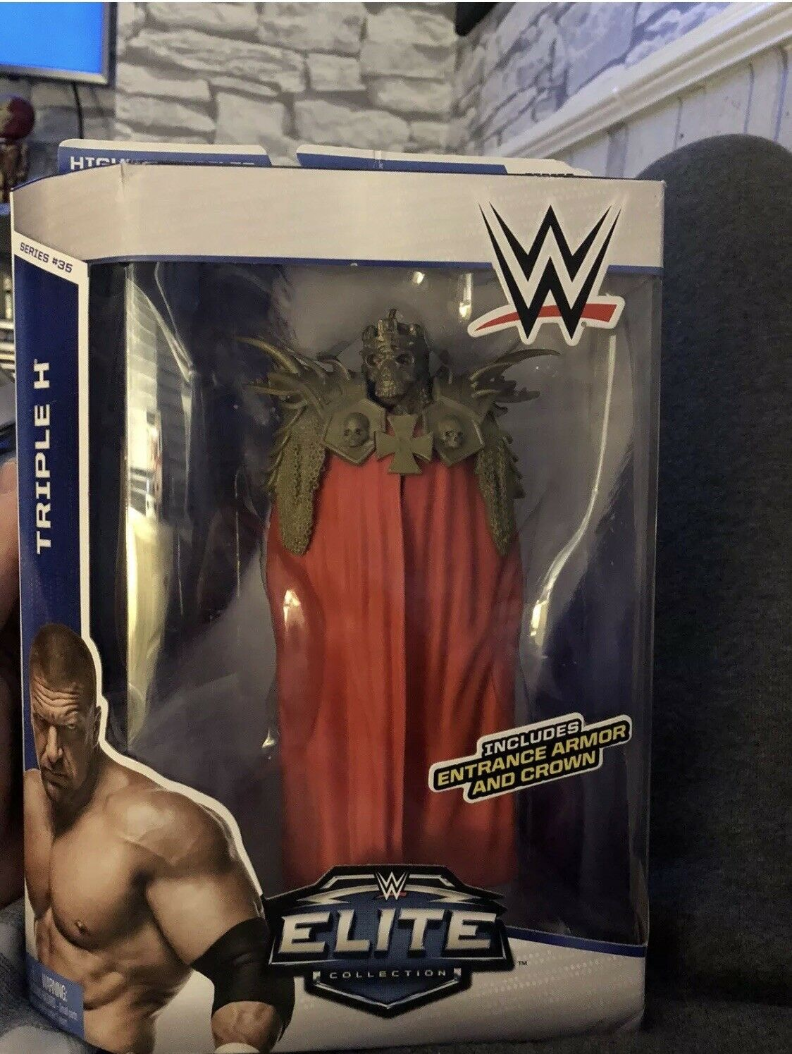 RARE WWE HHH TRIPLE H MATTEL ELITE COLLECTION SERIES 35 WRESTLING FIGURE