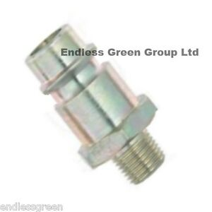 fits 1//4  6mm airline  EU423 PCL EURO FITTING AIR HOSE ADAPTOR TO COUPLING