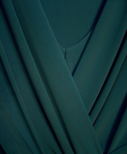 bleu devant stretch Drapé tricoté bleu croisé Chapters qxOzRwvW