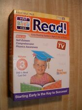 Your Baby Can Read DVD Vol. 3 Robert Titzer Ph.D.~ Ages 3 mo. to 5 yrs. ~ NEW!!