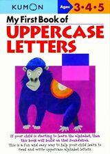 My First Book of Uppercase Letters by Kumon (2004, Paperback)