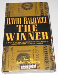 The Winner by David Baldacci (1998, Audio Cassette, Abridged edition)
