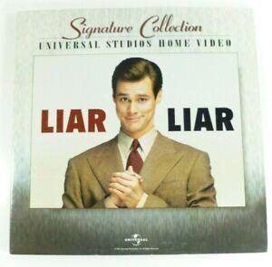 Liar Liar (1997) 2 Laserdisc LD Movie Signature Collection Jim Carrey Universal