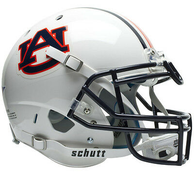 AUBURN TIGERS SCHUTT XP AUTHENTIC FOOTBALL HELMET