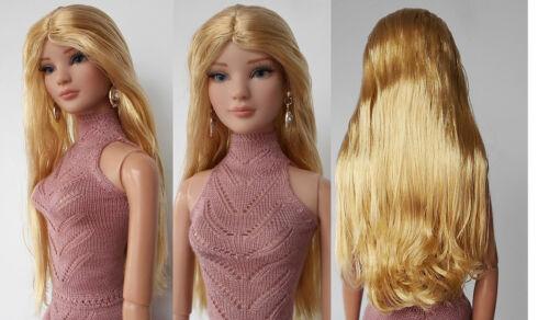 """2SAW-18 Sherry Fashion Wig FOR BJD ELLOWYNE Blyth 22/"""" AMERICAN MODEL TONNER DOLL"""