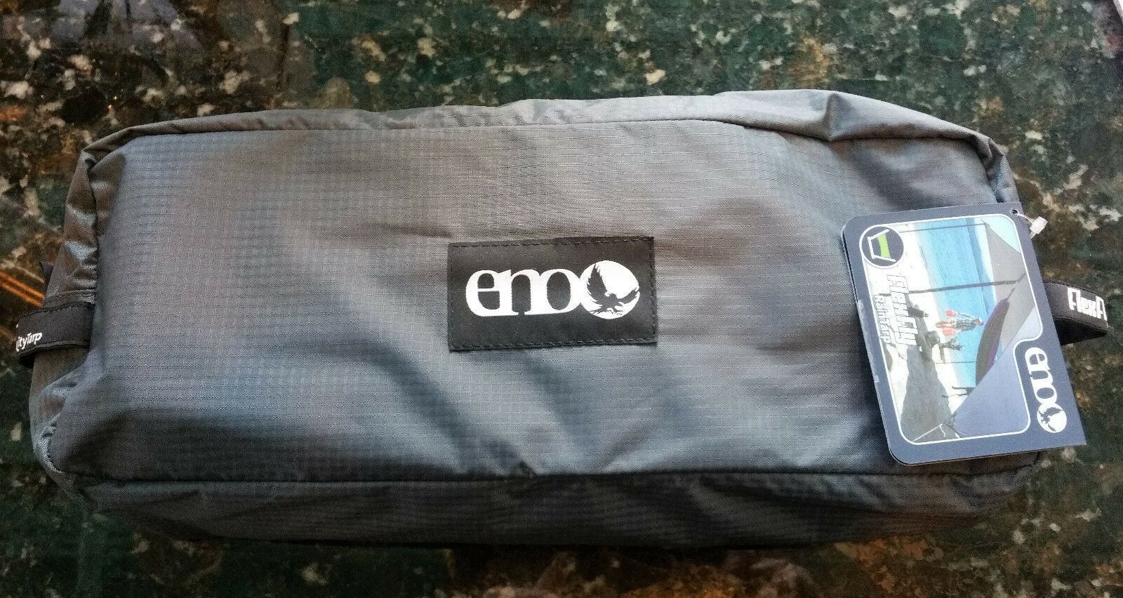 Eagles Nest Outfitters ENO FlexFly Rain Tarp GREY 10'6 x10' Shade Canopy NEW