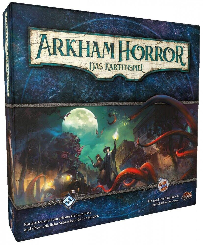 Arkham Horror  Das Kartenspiel LCG - Basisspiel     Grundspiel Deutsch 8fc302