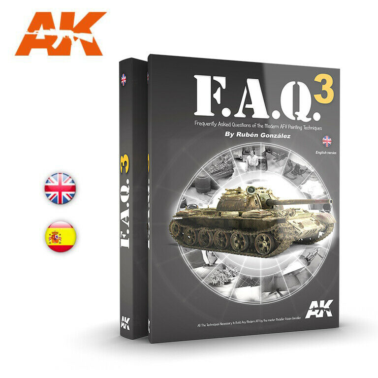 Colour Book - Modern AFV Painting Techniques F.A.Q Vol.3 (English, 464 pages)