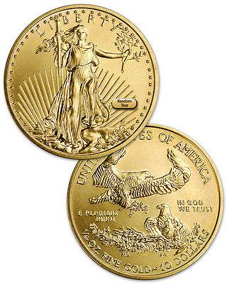 Random Date 1/4 Troy Oz Gold American Eagle $10 Coin SKU26122
