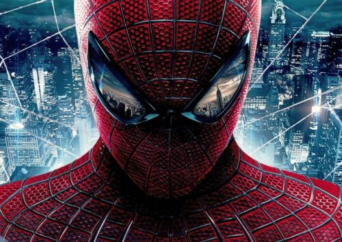 MARVEL SUPERHERO SPIDERMAN POSTER PICTURE PRINT Sizes A5 to A0 **NEW**