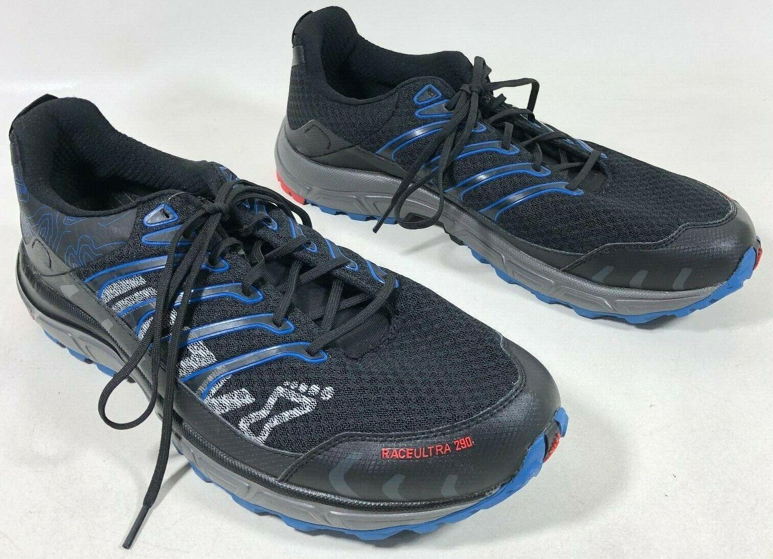 Inov - 8 X-Static Race Ultra 290 Running boue Chaussures Chaussures Chaussures Flex Noir Bleu Homme 11.5 neuf sans boîte  bon shopping