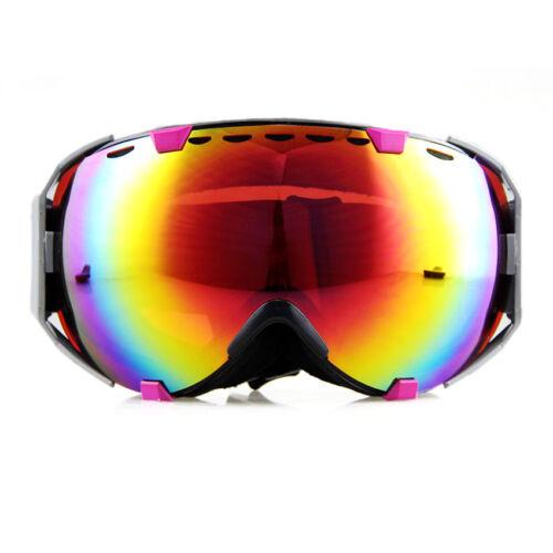 Breathable Snow Goggles Anti-fog Big Spherical Professional Skiing Eyewear 2016