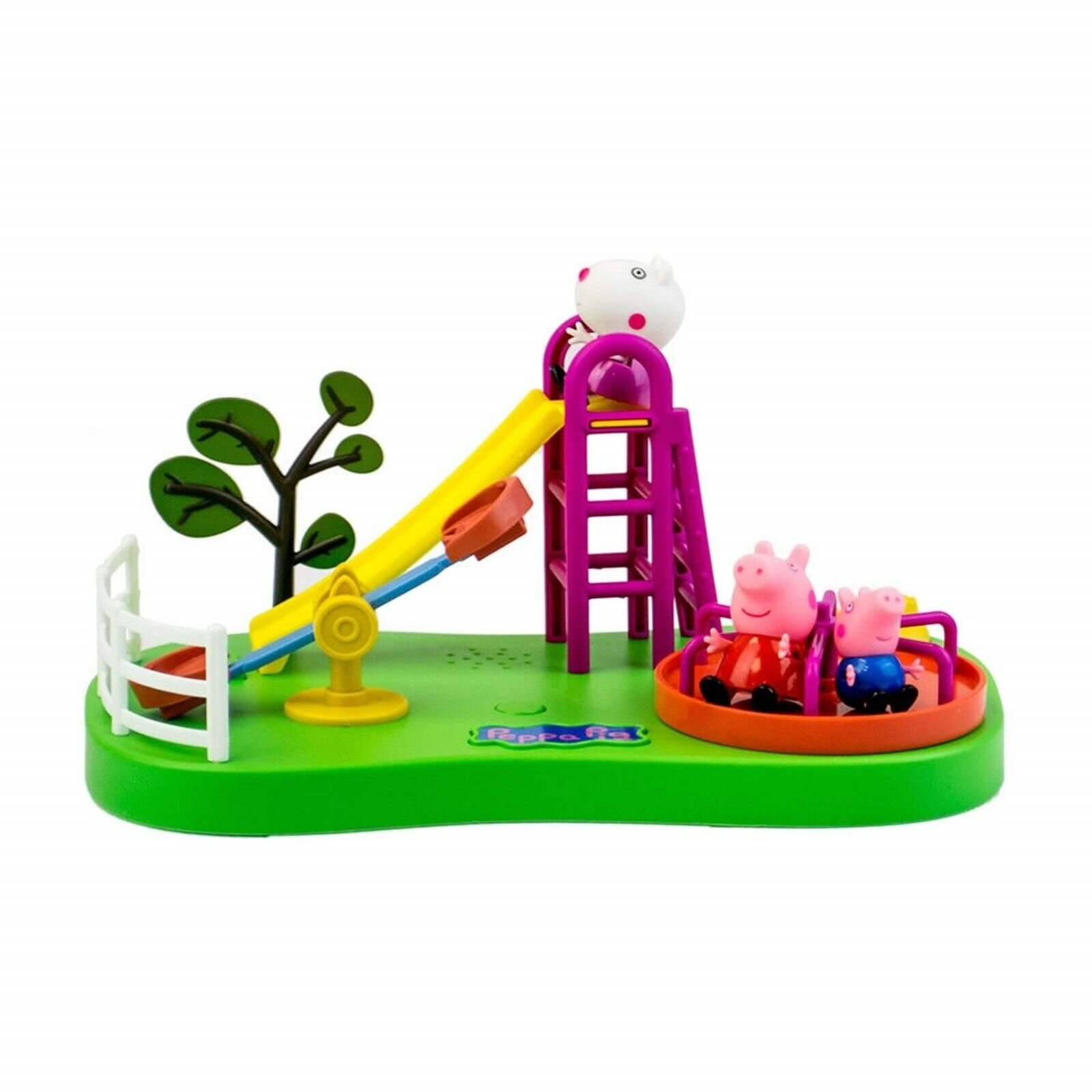 Peppa Pig Peppa/'s Playground Toy Playset With Figures /& Sound
