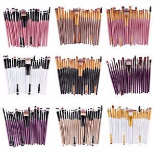 Kit 20Pcs Professionnel Pinceaux Brosse à Maquillage Makeup Brush Set Cosmétique