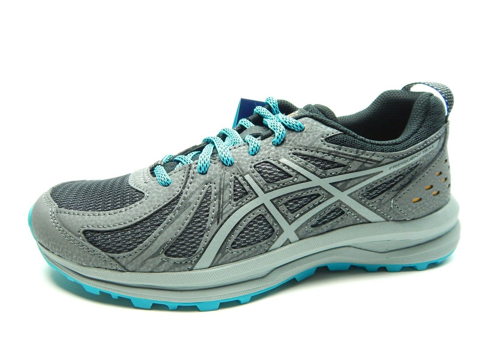ASICS FREQUENT TRAIL CARBON STONE GREY WOMEN Schuhe SIZE 5.5 TO 9