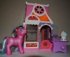 Hasbro My Little Pony Cotton Candy-  & -  ICE CREAM SHOP with cash register