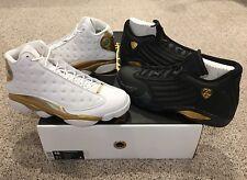 0301f09441a2 item 2 Nike Air Jordan Retro 13 14 Last Shot DMP Pack Size 15 White Black  Gold New DS -Nike Air Jordan Retro 13 14 Last Shot DMP Pack Size 15 White  Black ...