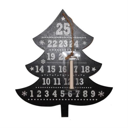 Anker blackboard jours pour noël compte à rebours plaque-arbre ou arrow