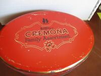Wilkins Cremona Family Assorment Candy Tin Made in England